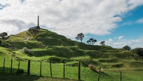Maungakiekie - One Tree Hill (Credit Tūpuna Maunga Authority)