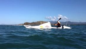 Scott Donaldson half distance across Tasman