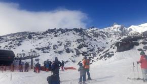 Guests lapping the Rangatira Express on Whakapapa Lower Mountain copy
