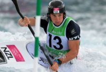 Photo of Silver for kayaker Dawson