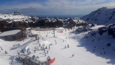 Photo of Mt Ruapehu ski season underway