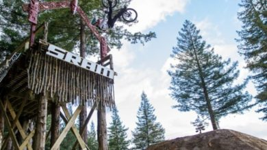 Photo of RHEEDER RECLAIMS TOP STEP IN ROTORUA SLOPESTYLE