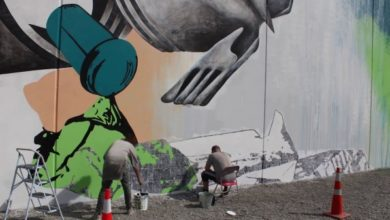 Photo of NEW ZEALAND'S WORTH LOVING – Unsealed – #3 of a pollution awareness mural tour