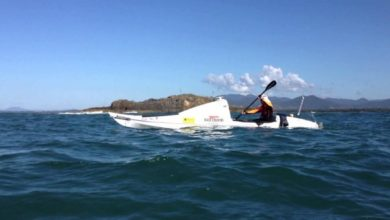 Photo of 440Km to Go for Tasman Kayaker