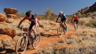 Photo of Scott Thomson and Carmen de Rooze clinch The Redback crowns