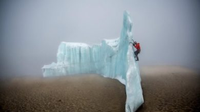 Photo of Ice Climbing On The Roof of Africa