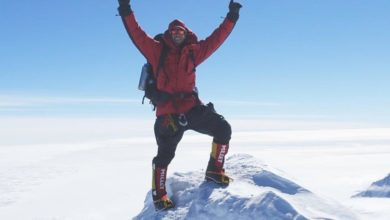Photo of Australian adventurer and explorer Dan Bull has taken out one of the most sought