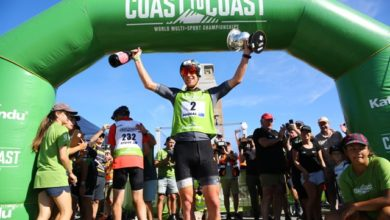 Photo of Allan and Maier win closest fought Coast to Coast in history