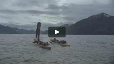 Photo of 'By Hand' Teaser. Twin brothers paddle from Alaska to Mexico.