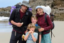 Photo of Walk this way: NZ's youngest Te Araroa trail walkers
