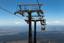 Photo of Tūroa's High Noon Express chair lift ready for 2019 ski season opening