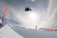 Photo of Winter Games halfpipe by Sean Beale