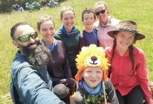 Photo of Family of seven takes on 3,000 km Te Araroa trail