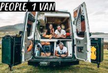 Photo of 3 PEOPLE LIVING IN A VAN   Van Life in Scotland