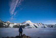Photo of Mount Ollivier trip for Adventure Magazine – Talman Madsen