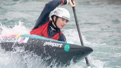 Photo of Oceania canoe slalom champ