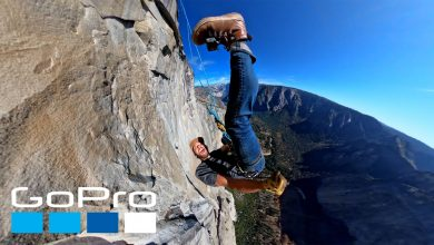 Photo of GoPro: Rappelling Down El Capitan Yosemite in 4K