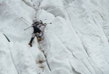 Photo of Polish ski mountaineer honoured for skiing down from formidable K2 summit.