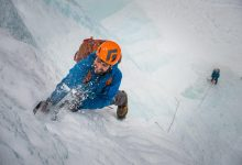 Photo of The first rule of ice climbing is …