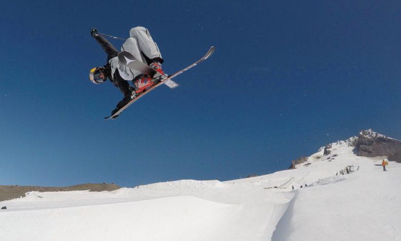 Photo of Kiwi Skiing Super Star Nico Porteous third place FIS Halfpipe World Cup